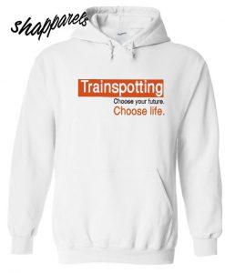 Trainspotting Retro Choose Life Hoodie