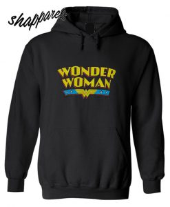 Wonder Woman Name Logo Hoodie