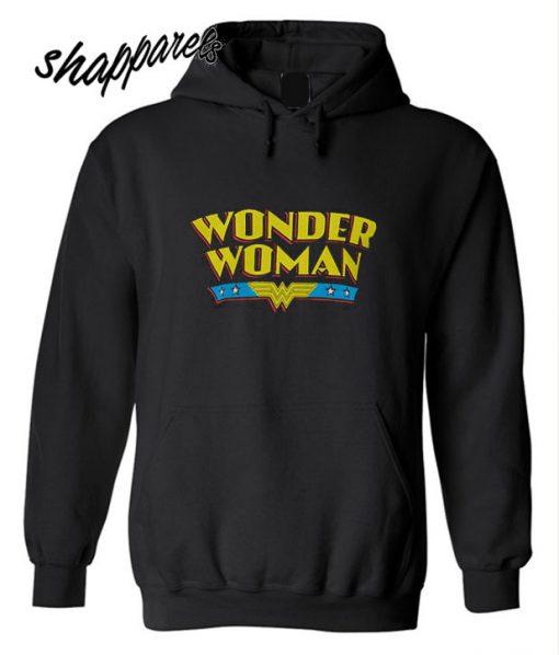 Wonder Woman Name Logo Hoodie