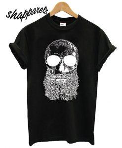 Skull Beard - Beer T shirt