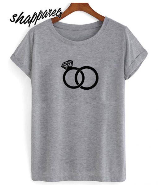 Wedding Bands Ring T shirt