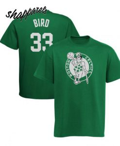 Youth Boston Celtics Larry Bird Majestic T shirt