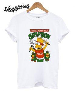 Teenage Mutant Ninja Simpson T shirt