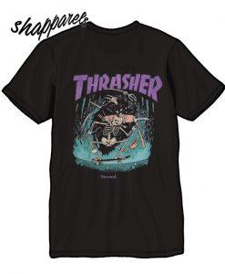 Thrasher x diamond skateboard T shirt