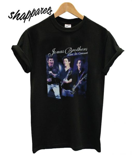 2010 Jonas Brothers Tour T shirt