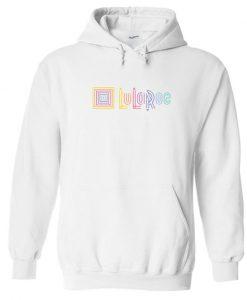 LuLaRoe Logo White Hoodie
