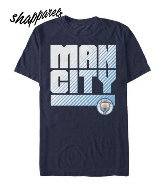 This Manchester City Name Crest T shirt