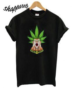 Weed Goku higher power T shirt