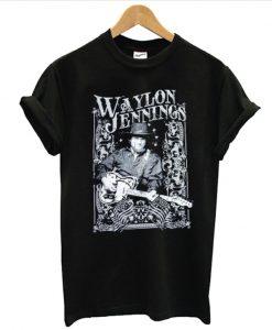 Waylon Jennings Telecaster T shirt