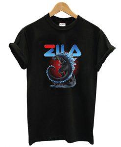 Zila Godzilla T shirt