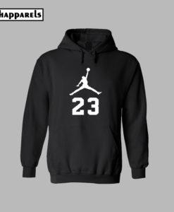 23 Michael Jordan Logo Hoodie