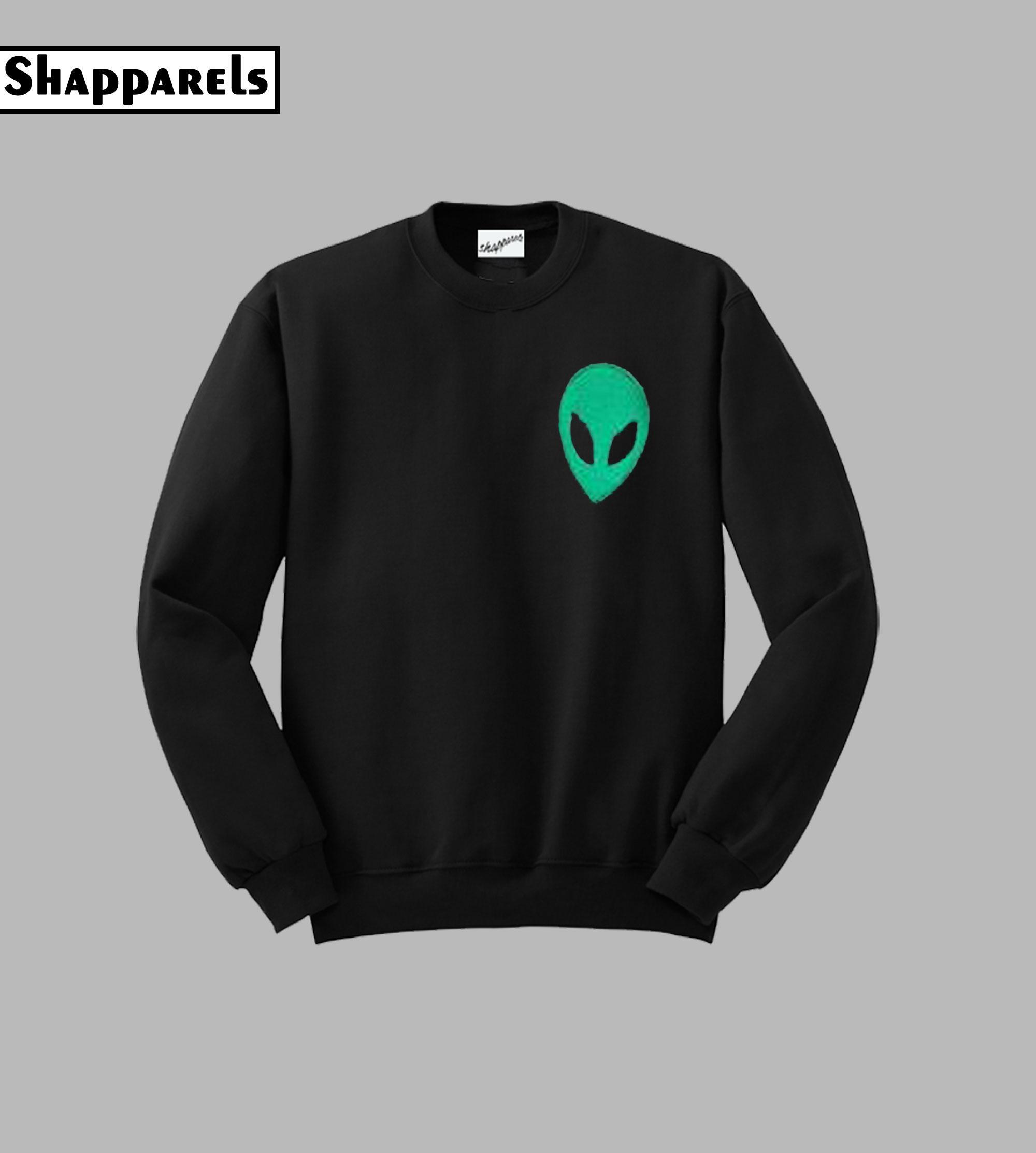 Acid Alien Sweatshirt