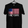 American Betsy Ross Flag Victory T shirt