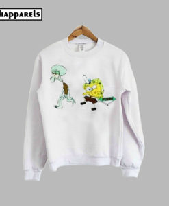 About spongebob squidward Sweatshirt