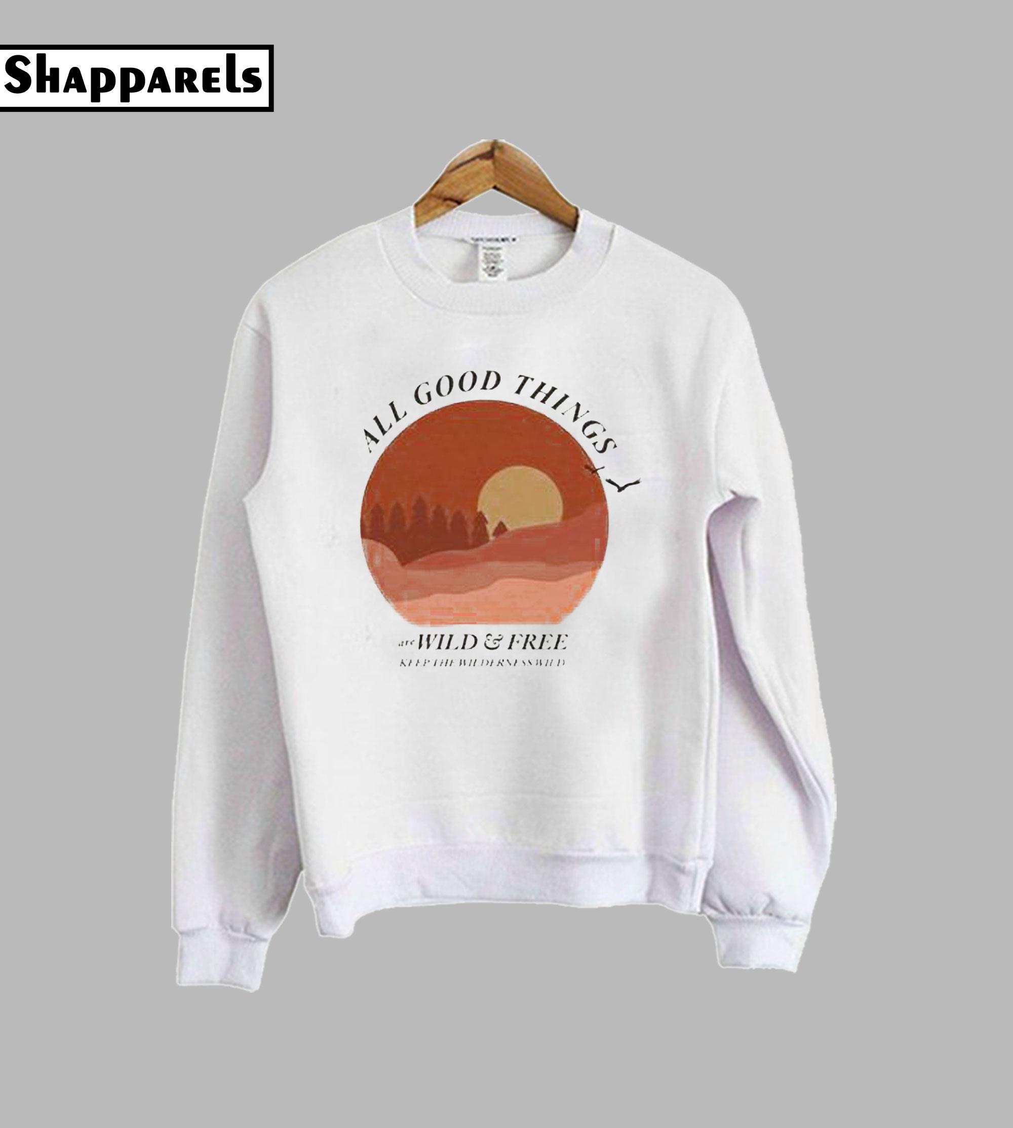 All Good Things Pullover Sweatshirt