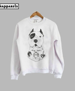 American Pitbull Tatooes Sweatshirt