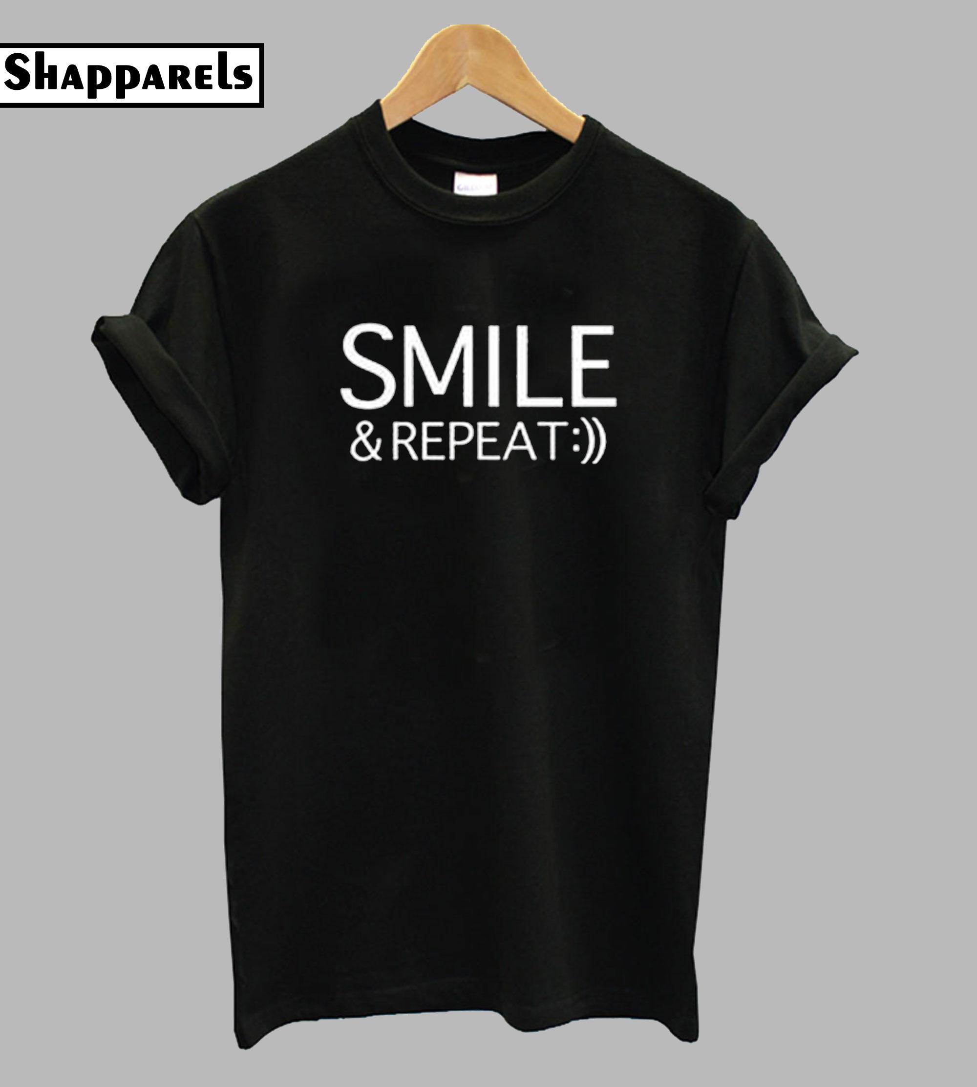 Smile & Repeat T-Shirt