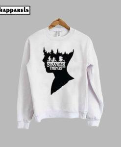 Stranger Things Printed Sweatshirt
