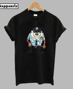 Tasmanian Devil Police T-Shirt