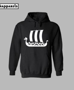 Viking Ship Hoodie