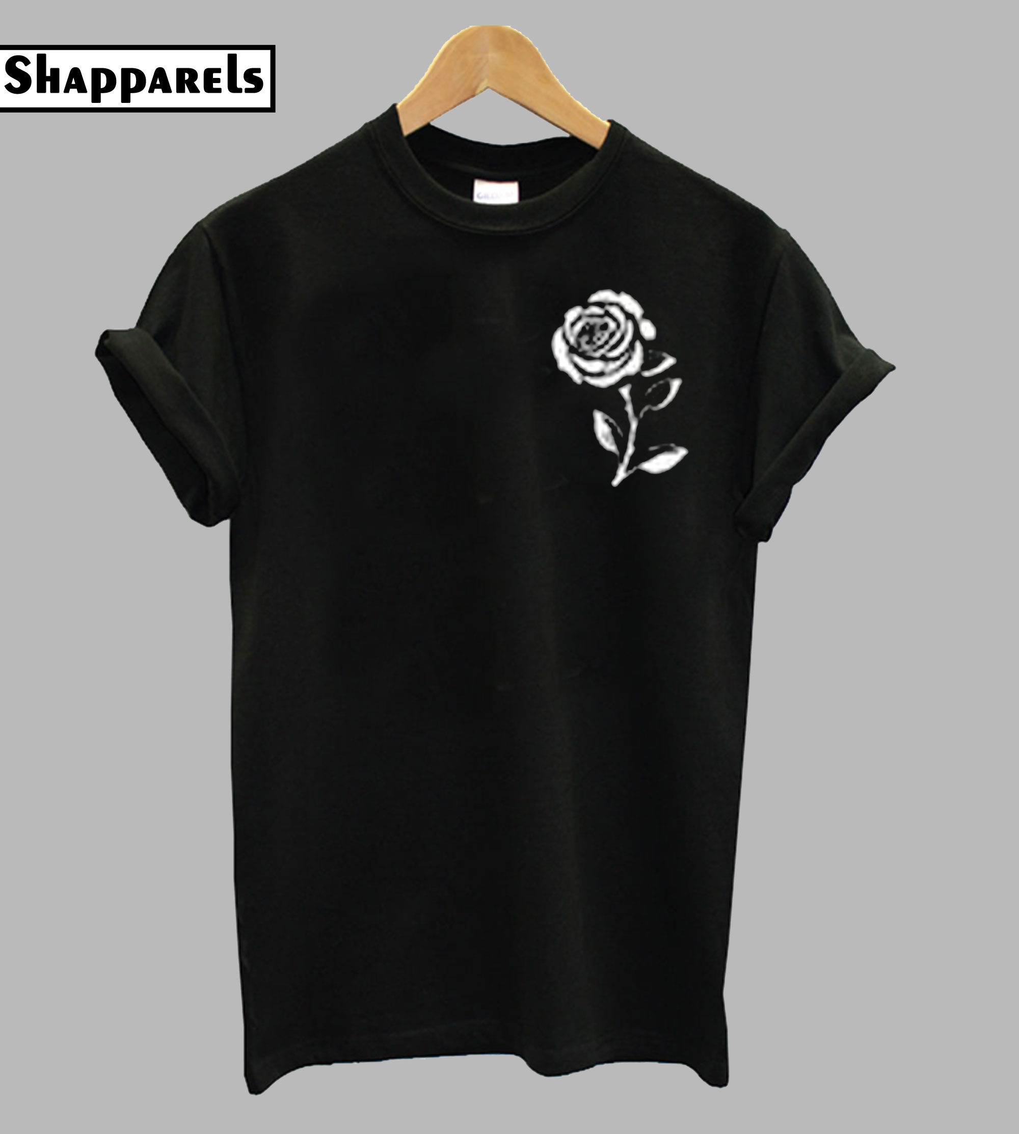 Whith Rose T-Shirt