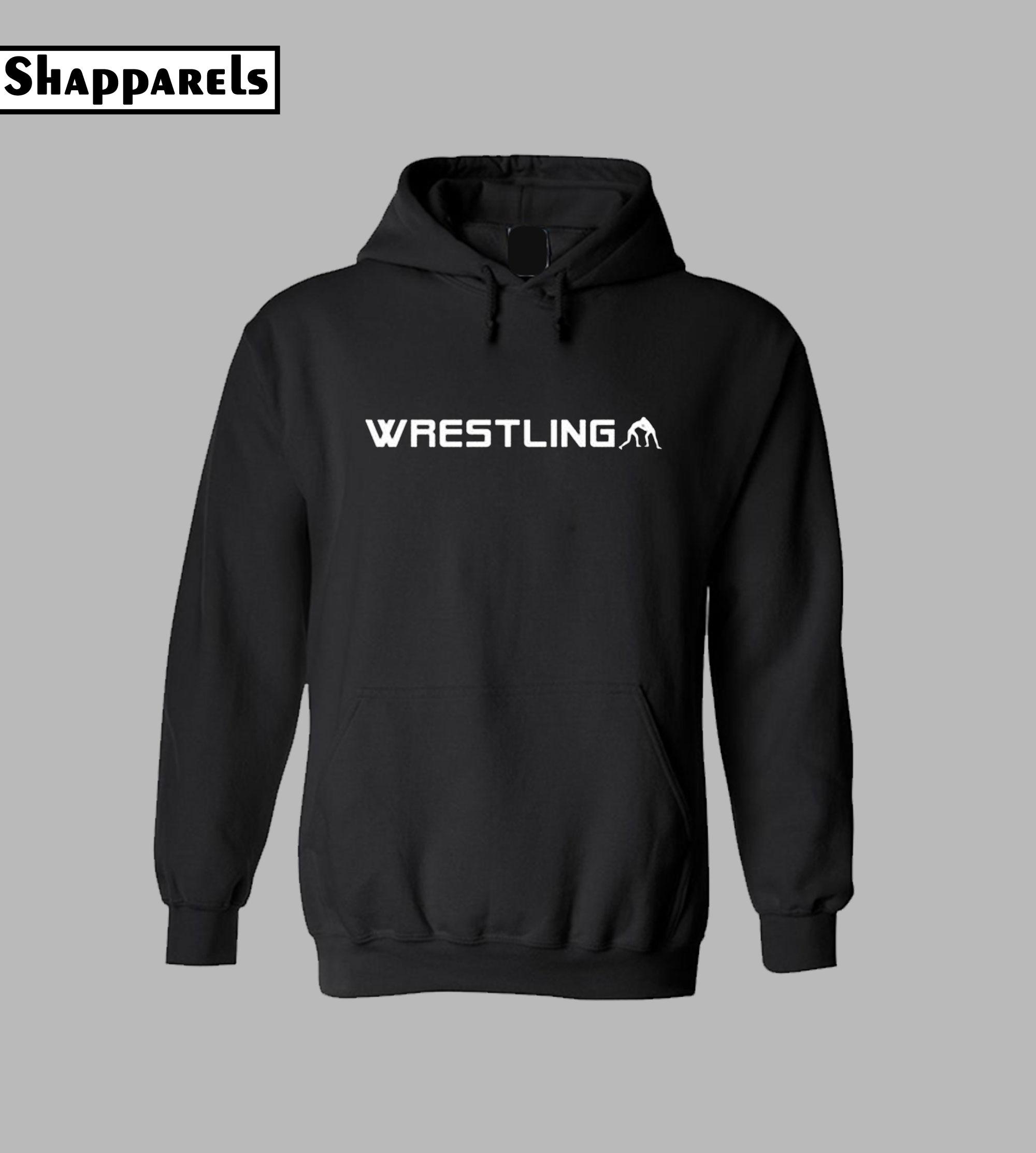 Wrestling Cool Style Hoodie