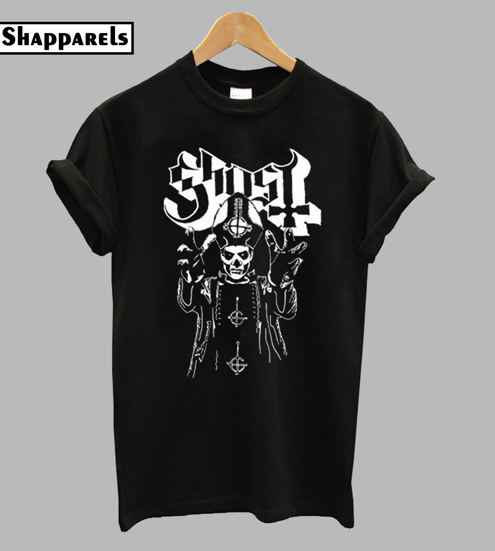 Ghost Funny Graphic T Shirt