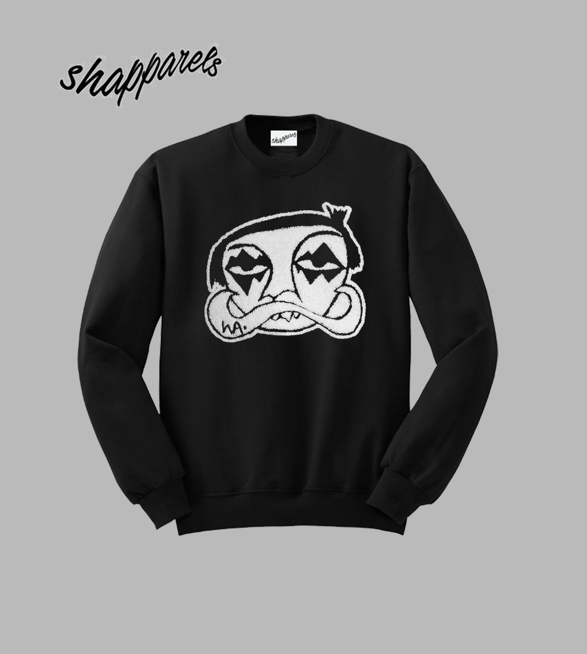 Haculla Les Crew Graphic Sweatshirt
