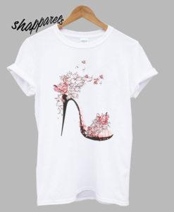 Shein High Heels T shirt