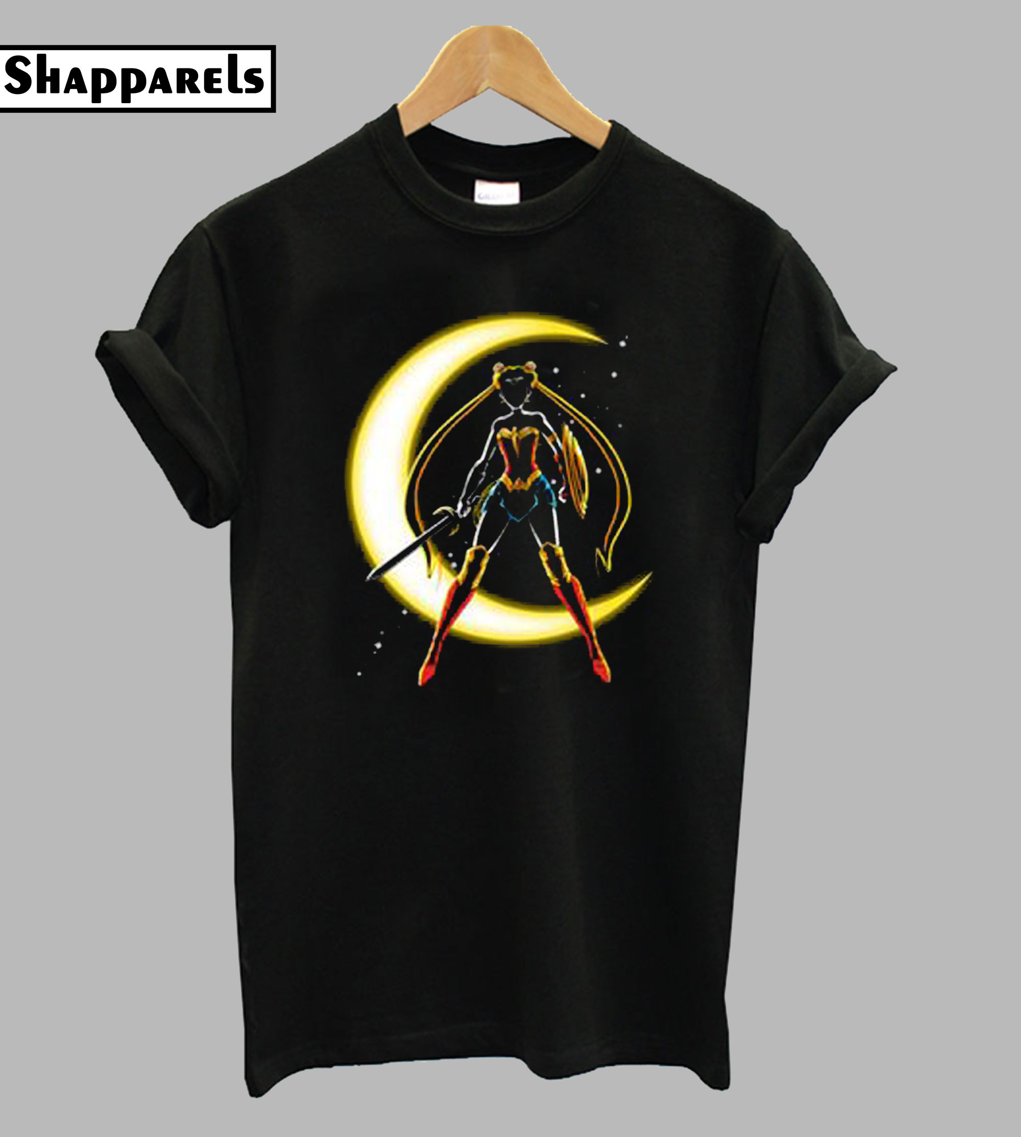 Wonder Moon Funny T Shirt
