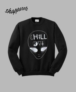 Alien Print Sweatshirt