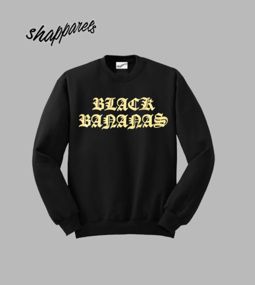 Black Bananas Sweatshirt