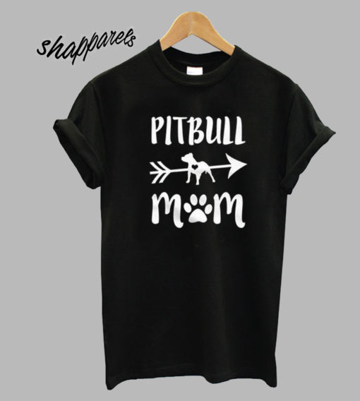 Pitbull Mom Women's short Tshirt