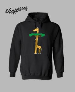 tree or mgiraffe hoodie