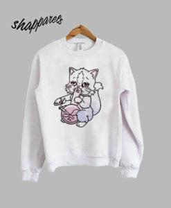 Pastel Bong Cat Sweatshirt
