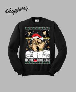 Ugly Christmas Sweater Home Sweatshirt