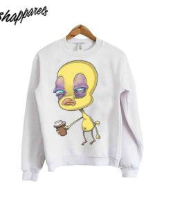 Tweety Bird Before Coffee Loony Toons Sweatshirt