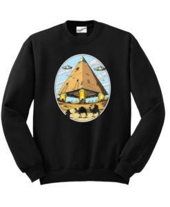Alien Pyramids Sweatshirt