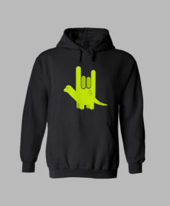 American Sign Language I Love You Design Valentines Hoodie