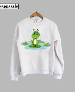 A Frog And A Water Sweatshirt