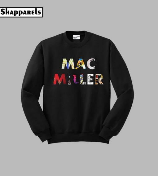 Mac Miller The Album Sweatshirt