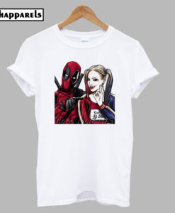 Spiderman And Harley T Shirt