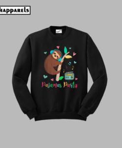 Trends Sloth Pajamas Party Sweatshirt