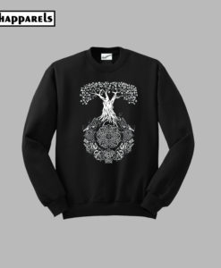 Yggtrasil Tree Of Life Sweatshirt