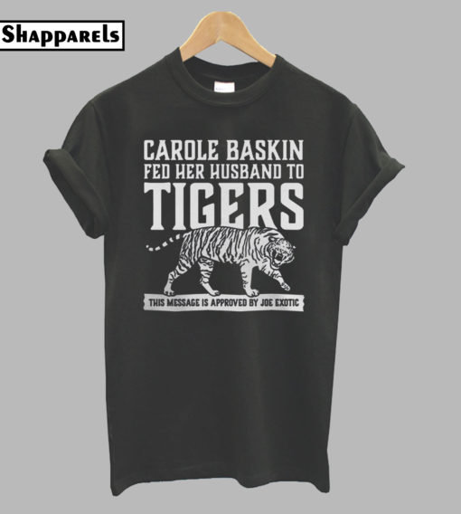 Carole Baskin Joe Exotic T-shirt